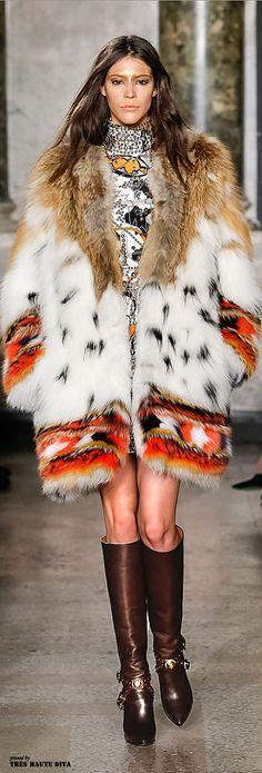 Milan Fashion Week Emilio Pucci Fall/Winter 2014 | The House of Beccaria#