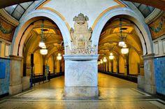 U-Bahnhof Heidelbergerplatz Berlin  _____________________________ Bildgestalter http://www.bildgestalter.net