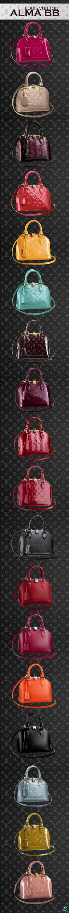 ~Louis Vuitton Alma BB Collection is a reinterpretation of one of LV's icons   House of Beccaria