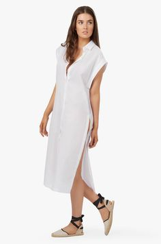 Maxi swim cover up from Cuyana