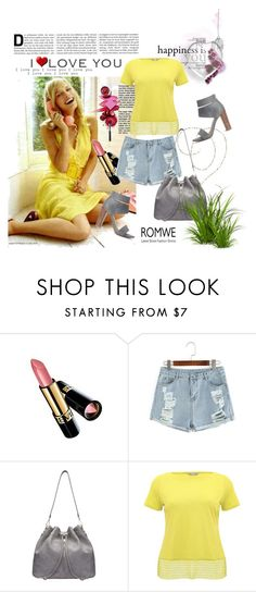 """""""Romwe (1)  4"""" by aida-1999 ❤ liked on Polyvore featuring Revlon, M&Co and Splendid"""