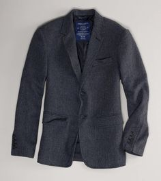 7e6c61861f1e2 AE Tweed Blazer. Great for a night out in the town.  MensFashionSummer
