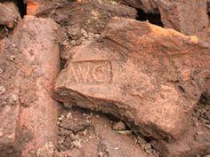 Roman tile showing part of the LEG II AVG stamp.