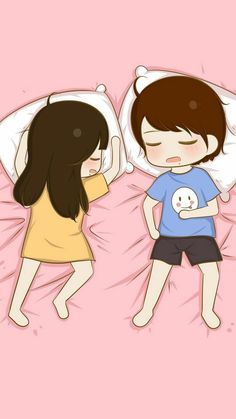 This is how i sleep almost all the time xp :p cute couple cartoon, Love Cartoon Couple, Chibi Couple, Cute Couple Art, Cute Love Cartoons, Anime Love Couple, Cute Anime Couples, Bebe Anime, Anime Chibi, Anime Art