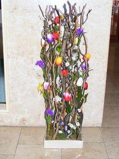 Bottle Crafts, Ladder Decor, Decoupage, Jar, Spring, Sticks, Plants, Home Decor, Floral Arrangements