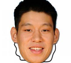Houston Rockets Jeremy Lin Bleacher Mask - $11.99