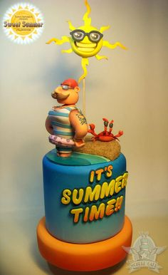 Sweet Summer Collaboration - Cake by The Wonder Cake