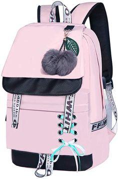 Girly Backpacks, Stylish Backpacks, Kids Backpacks, School Backpacks, Backpack Bags, Fashion Backpack, Rainbow Ribbon, Swag Outfits For Girls, Stylish Dress Designs