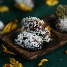 Walnut stuffed Dates with Coconut