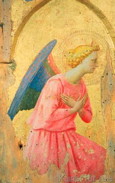 Fra Angelico - Adoration of an Angel, c.1430-40