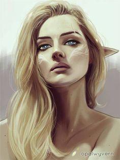 Inspiración Alidaen, protagonista de Los hijos de Édora.Marca de la cara