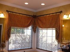 pictures of window treatments with beautiful curtain style