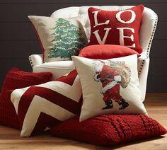 Pottery Barn Christmas Pillows