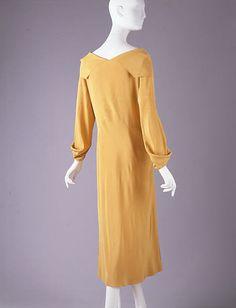 Madeleine Vionnet | Afternoon dress | FrenchbyMadeleine Vionnet (French, Chilleurs-aux-Bois 1876–1975 Paris)