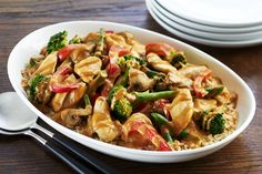 What could be better than your favourite Asian flavours coming together in one dish. This tasty recipe is a quick and easy alternative to takeout and sure to be a hit with your entire family. Peanut Sauce Recipe, Peanut Butter Sauce, Sauce Recipes, Tasty Recipe, Cooking Recipes, What's Cooking, Peanut Chicken, Chicken Stir Fry, Asian Recipes