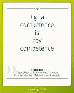 Digital competence is key competence by Kristel Rillo Mehr zur Bildungsreise unter: http://www.ergovia.de/ergovia-startseite/#start Alle Bildungsvideos unter:  https://www.youtube.com/playlist?list=PLUDl3h1tKR5MkeZL3AvKGyTvkEs7o919m #Estland #Schule #Digitalisierung #Unterricht #digital #Schulsoftware #Lehrer #teacher #school #ergovia #software