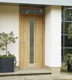 External Worcester Oak Glazed