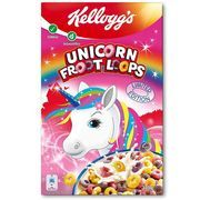 Kellogg's has launched a magical unicorn breakfast cereal. Kellogg's has launched limited edition Unicorn Froot Loops breakfast cereal. Breakfast Cereal, Breakfast Items, Source De Calcium, Froot Loops, Diy Shadow Box, Unicorn Foods, Cheap Clean Eating, Australian Food, Unicorn Cupcakes