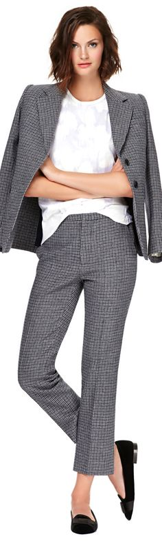 Like this Marc Jacobs Fall 2013 suit! #womenswear #professional dress