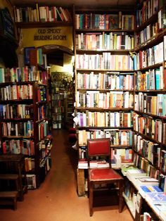 Not actually a house, but bookstores always feel like home to me.