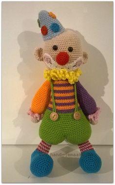 Clown - hand-gemaakt