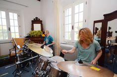 Überäume - Toskana Stationary, Gym Equipment, Bike, Percussion, Drum, Tuscany, Bicycle, Bicycles, Workout Equipment