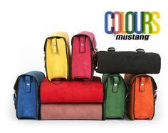 El bolso colegial de MUSTANG lo hay en un montón de colores! #bag #satchelbag #bolso