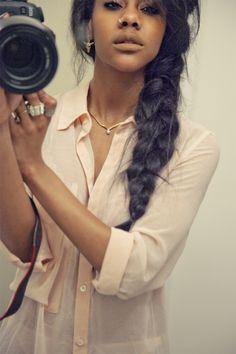 messy braids :)