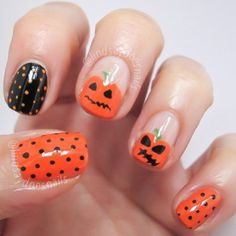 Halloween by lindsaydoesnails #nail #nails #nailart