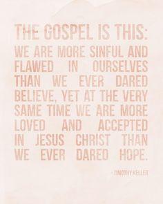 ELM STREET LIFE: The gospel. {Free printable}
