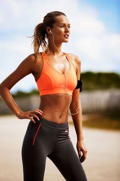 Sport outfit oranje