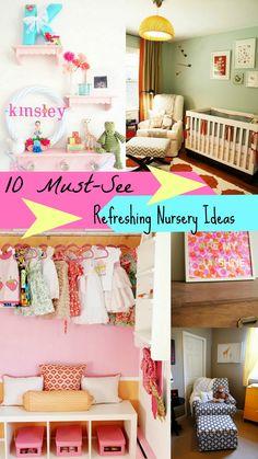 10 Refreshing Ideas to Freshen Up The Nursery