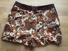 It'll soon be the season to wear psychedelic hot pants! Finally got these finished. Hot Pants, Make Time, Psychedelic, Boho Shorts, Stitching, Seasons, How To Wear, Women, Fashion