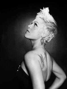 I absolutely adore Alecia Moore, (a.k.a.-P!nk).