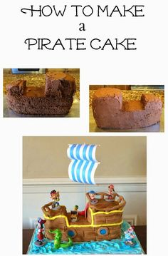 Planning Playtime: Jake and the Neverland Pirates Birthday Cake