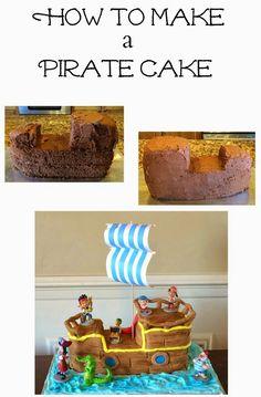 Planning Playtime: Jake and the Neverland Pirates Birthday Cake