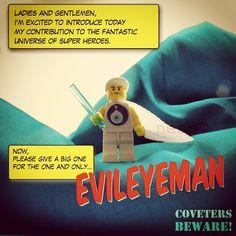 Evileyeman's Online Debut - @nesp- #webstagram