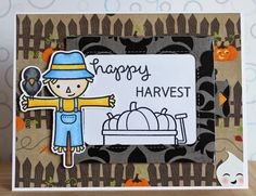 There's a Card for That: Hello Halloween Series| ft Lawn Fawn Magic Color Slider