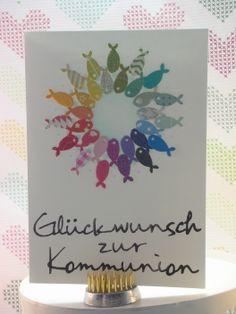 zur Kommunion 3/10  #memorybox #stencil #distressink #inkystamp #rainbow #papersmooches