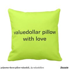 polyester throw pillow valuedollar.