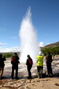 Itinéraire en Islande - Geysir Palaces, Annie, Niagara Falls, Nature, Travel, Globe, Places, Tops, Youth