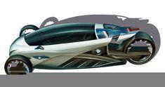 BMW i1 electric trike-car 4