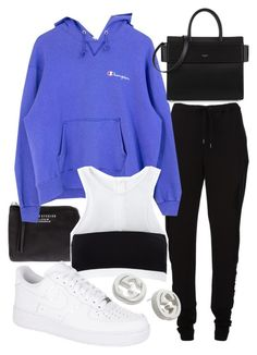 """Untitled #21892"" by florencia95 ❤ liked on Polyvore featuring Acne Studios, Chalayan, Givenchy, T By Alexander Wang, NIKE and Gucci"