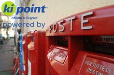 I servizi di Poste Italiane a tua disposizione da Kipoint Segrate >