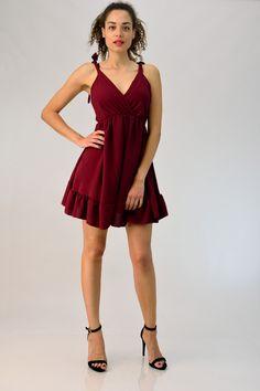 4cb429aa680 Μίνι φόρεμα κρουαζέ για να εντυπωσιάσεις στις καλοκαιρινές σου εξόδους!