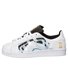 huge discount 95760 ffbda Adidas Junior Superstar Stormtrooper x Star Wars Black White Gold