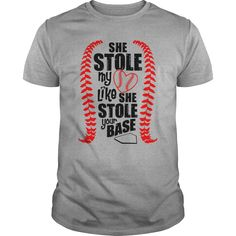 She stole my heart  Softball  t shirts and hoodies