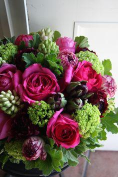 rose,ranunculus,tulip and hyacinth