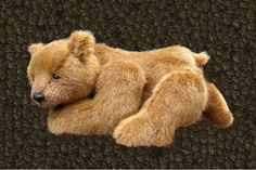 PDF pattern for Realistic Bear Alpha 7 inch long by aerlinnbears, $13.00