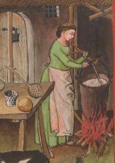 IBN BUTLÂN , Tacuinum sanitatis 15. Jhd Latin 9333  Folio 60r